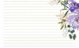 003 Formidable Free Printable Stationery Paper Template Photo  Templates