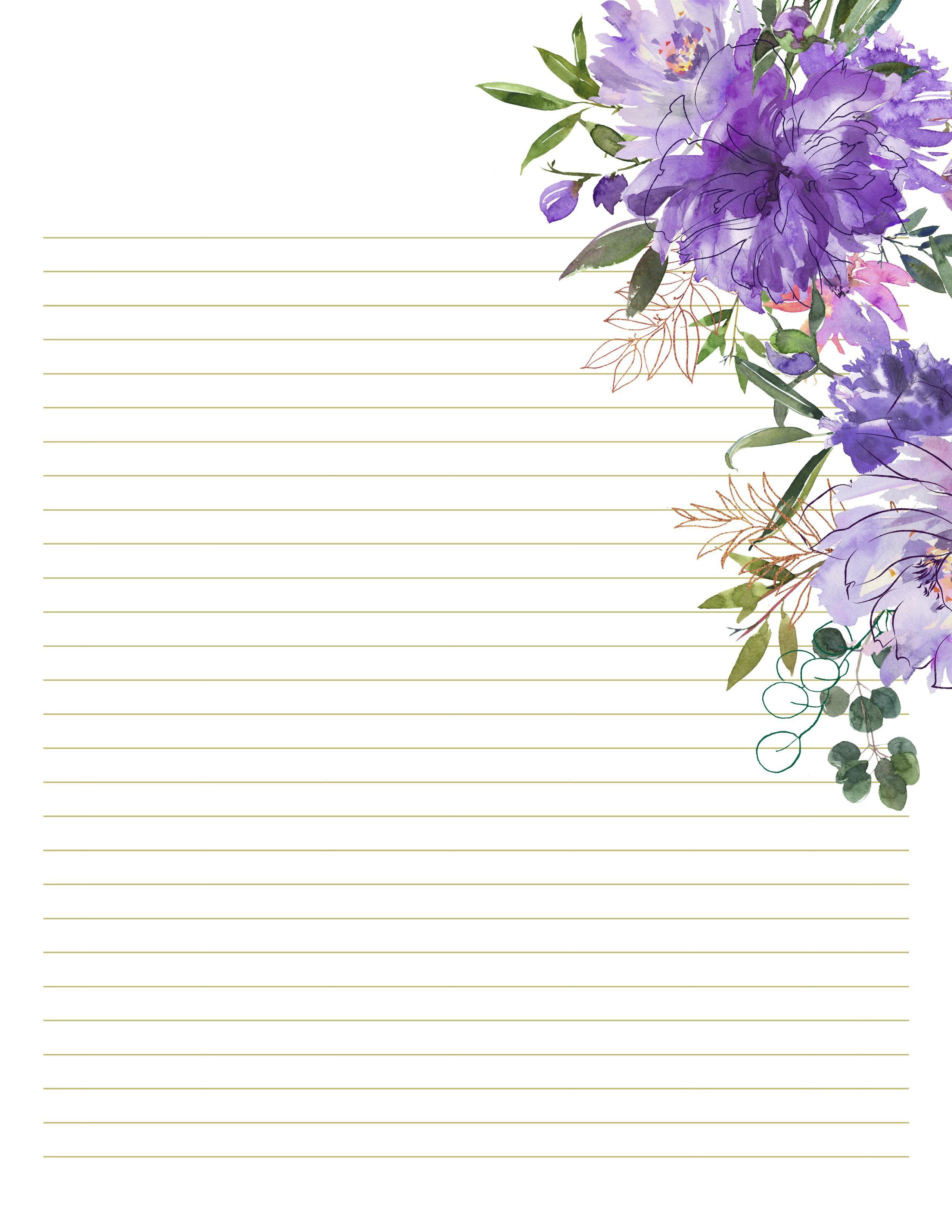 003 Formidable Free Printable Stationery Paper Template Photo  TemplatesFull