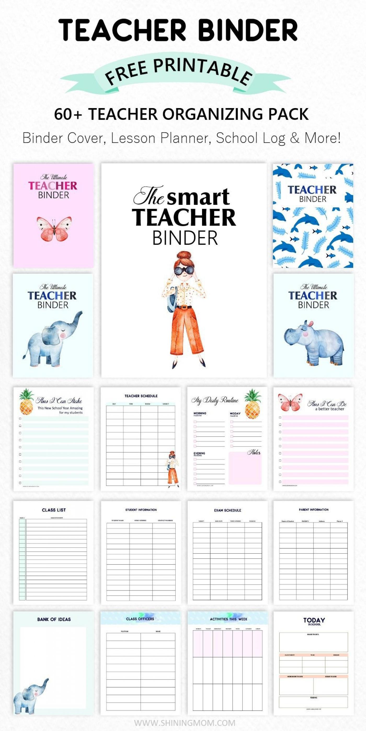 003 Formidable Free Printable Teacher Binder Template High Resolution 1400