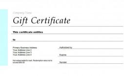 003 Formidable Gift Certificate Template Pdf Inspiration  Massage Christma Printable
