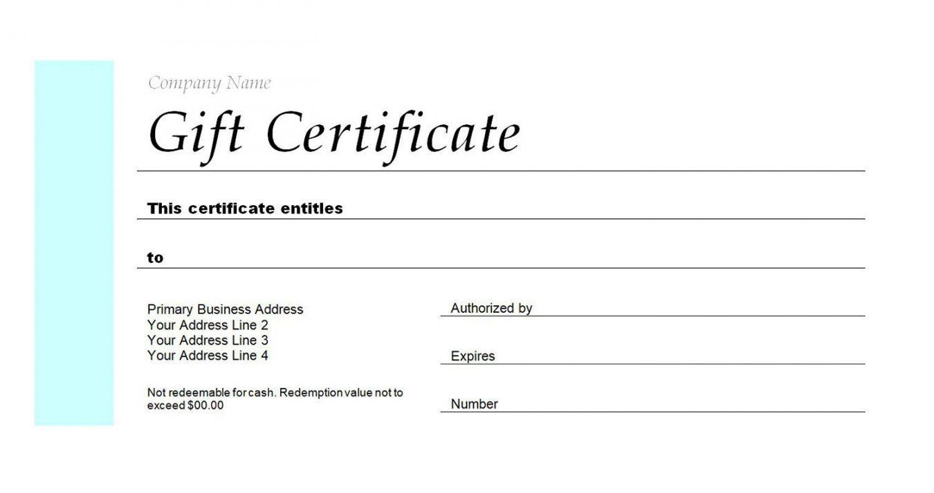 003 Formidable Gift Certificate Template Pdf Inspiration  Massage Christma PrintableFull