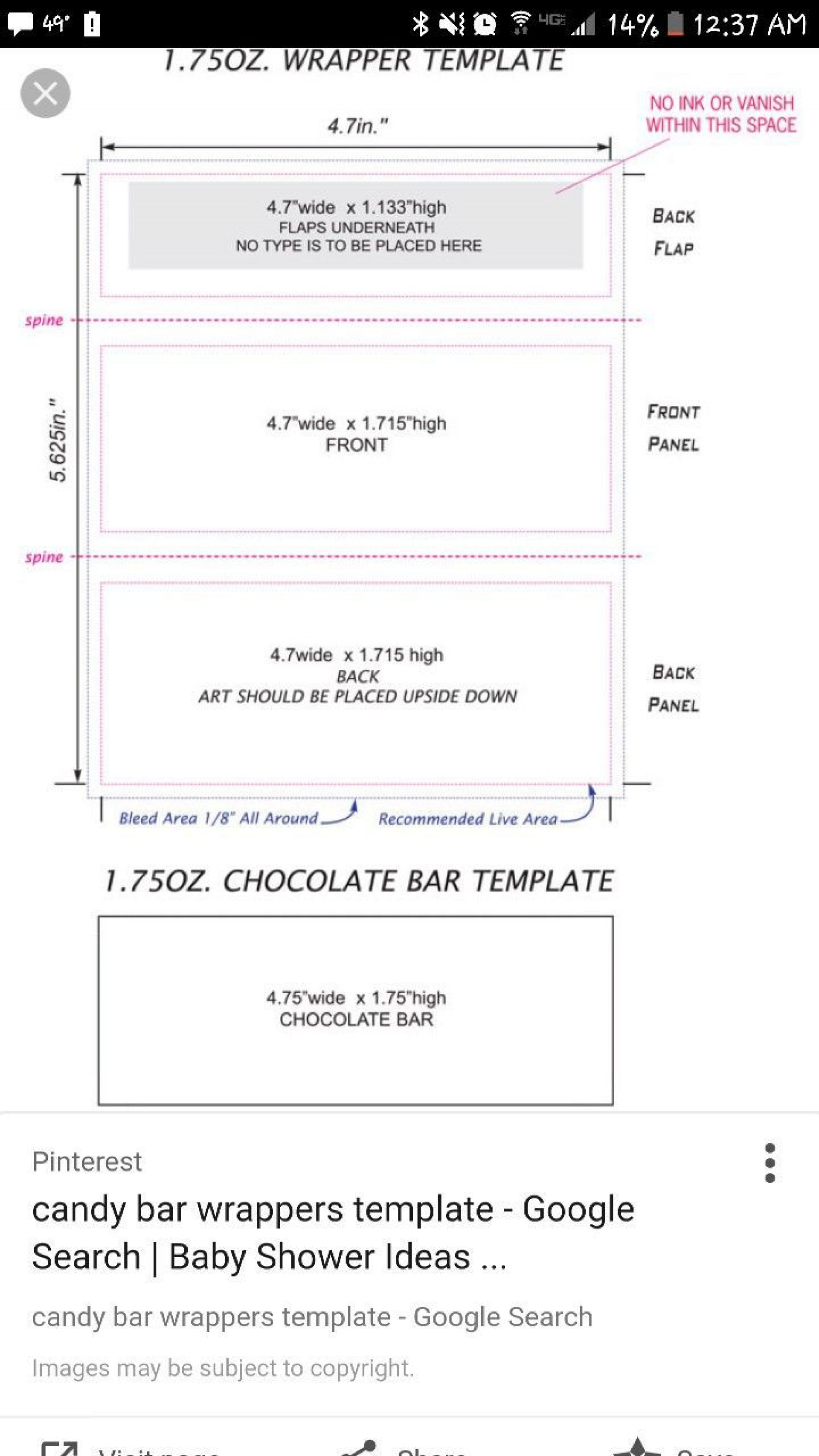 Hershey Bar Wrapper Template from www.addictionary.org
