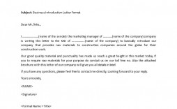 003 Formidable Letter Of Introduction Template Example  Teaching Teacher To Parent