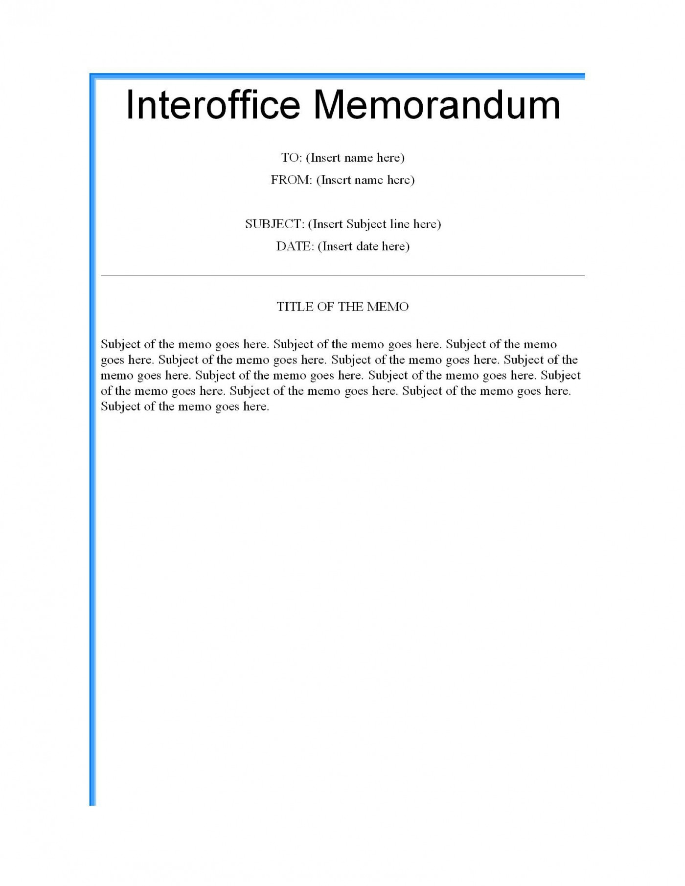003 Formidable Microsoft Word Memo Template Highest Clarity  Professional 2010 Free Legal1400