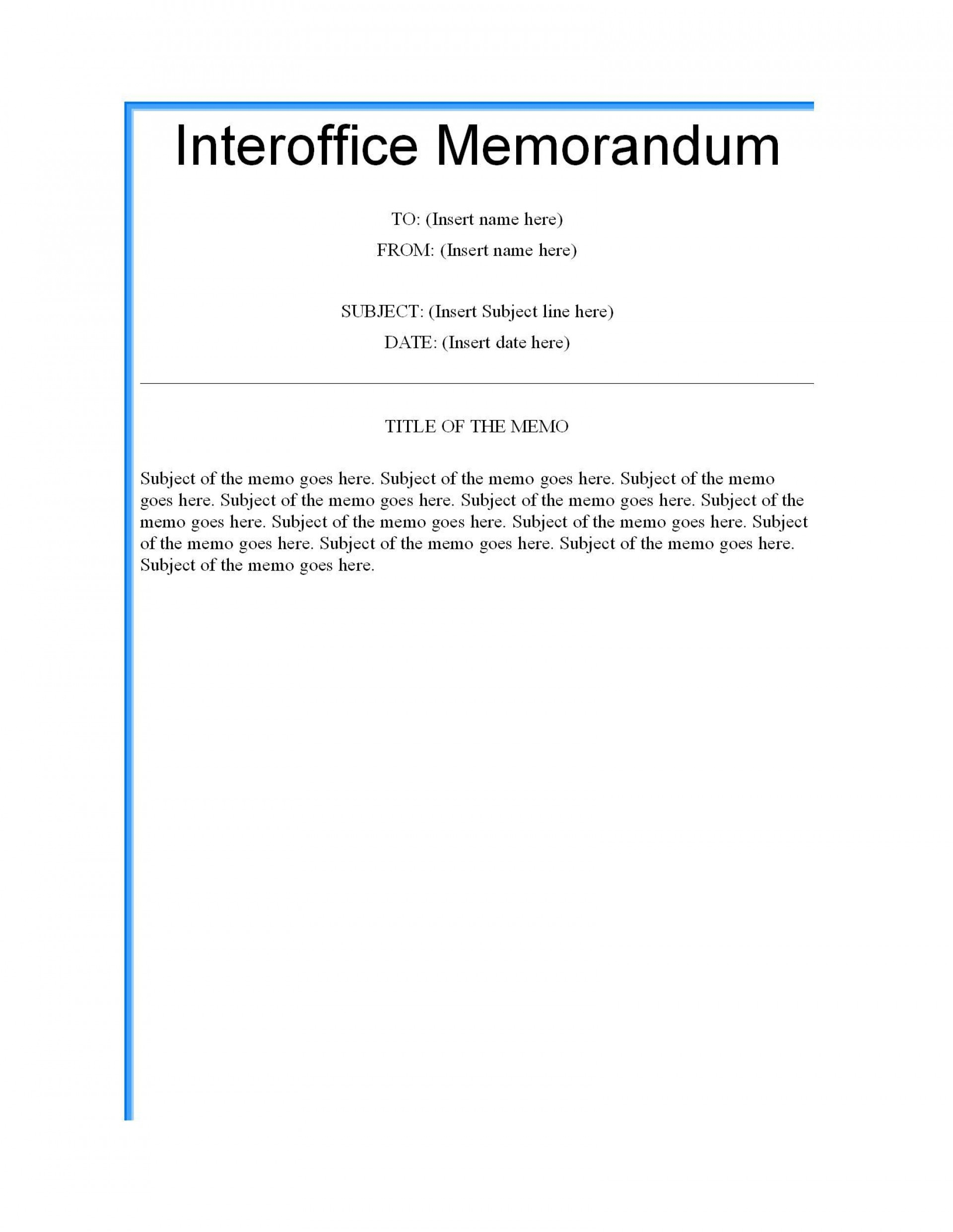 003 Formidable Microsoft Word Memo Template Highest Clarity  Professional 2010 Free Legal1920