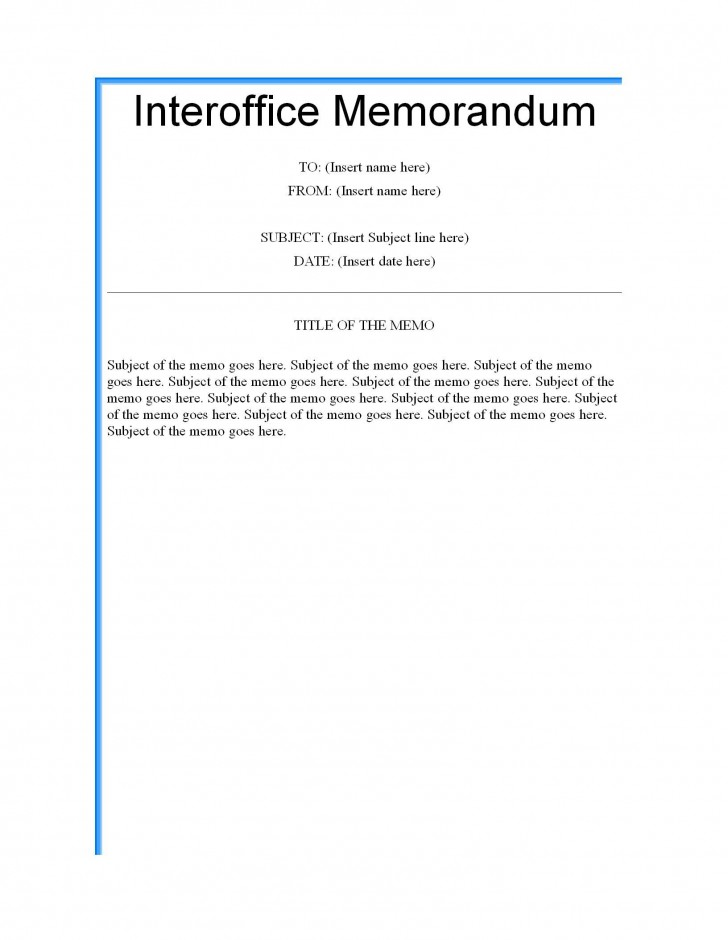 003 Formidable Microsoft Word Memo Template Highest Clarity  Professional 2010 Free Legal728