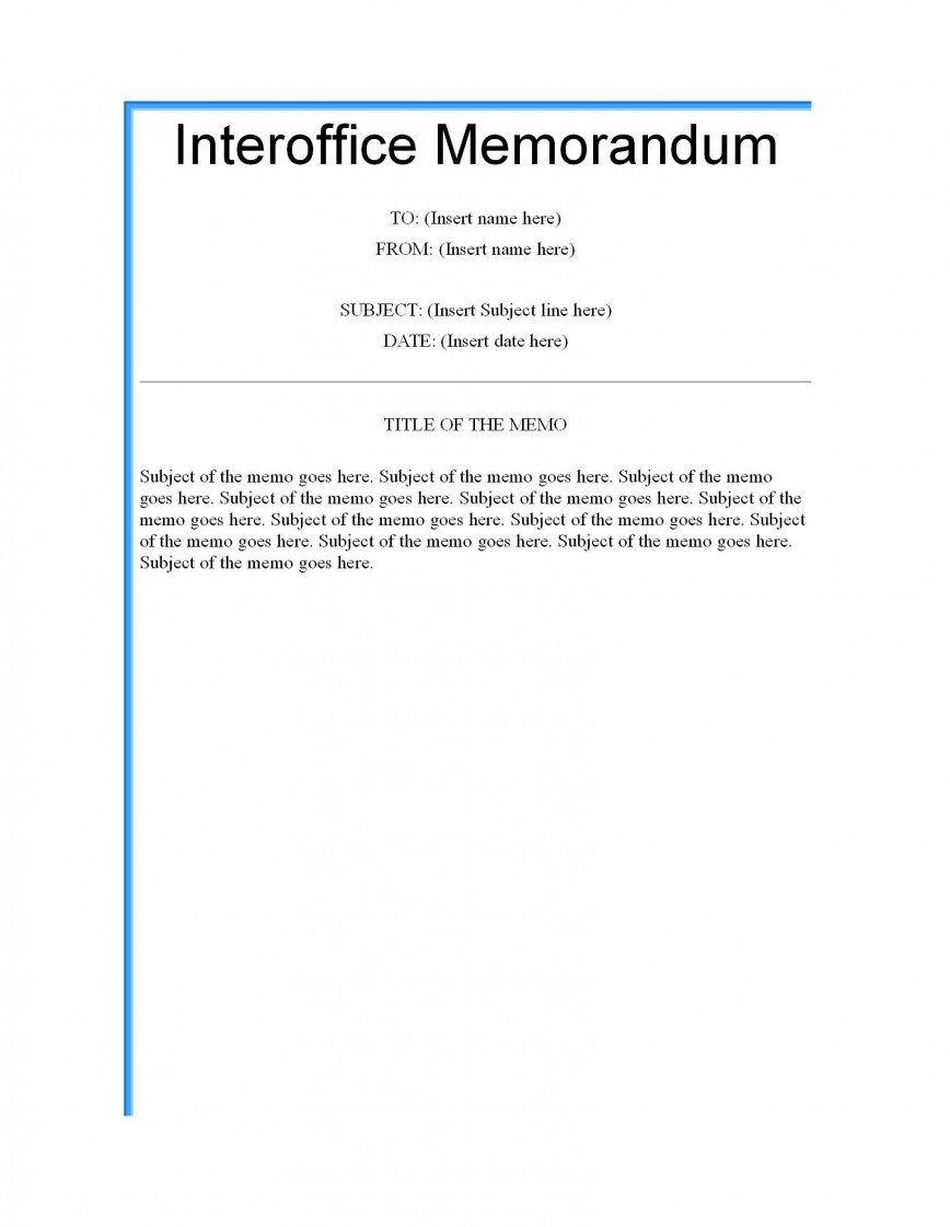 003 Formidable Microsoft Word Memo Template Highest Clarity  Professional 2010 Free Legal868