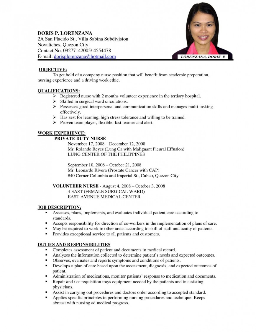 Nursing Student Resume Template Addictionary