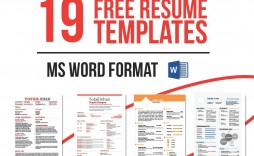 003 Formidable Resume Template M Word Free Highest Clarity  Cv Microsoft 2007 Download Infographic