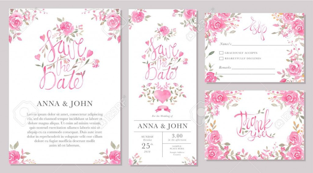 003 Formidable Sample Wedding Invitation Card Template Inspiration  Templates Free Design Response WordingLarge