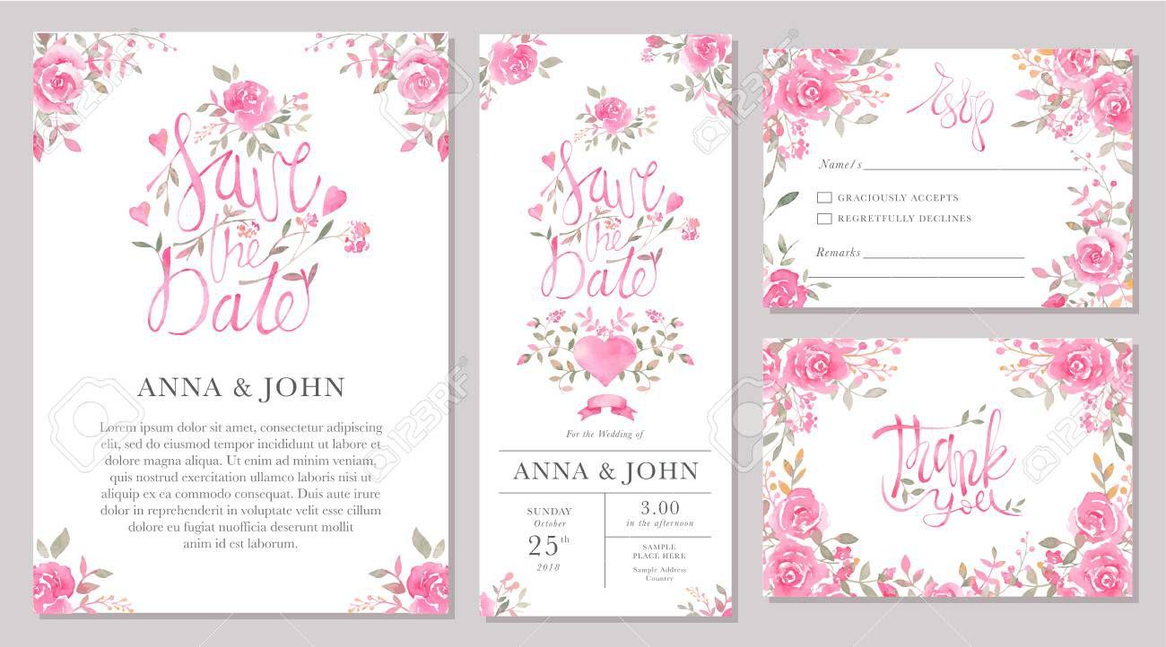 003 Formidable Sample Wedding Invitation Card Template Inspiration  Templates Free Design Response WordingFull