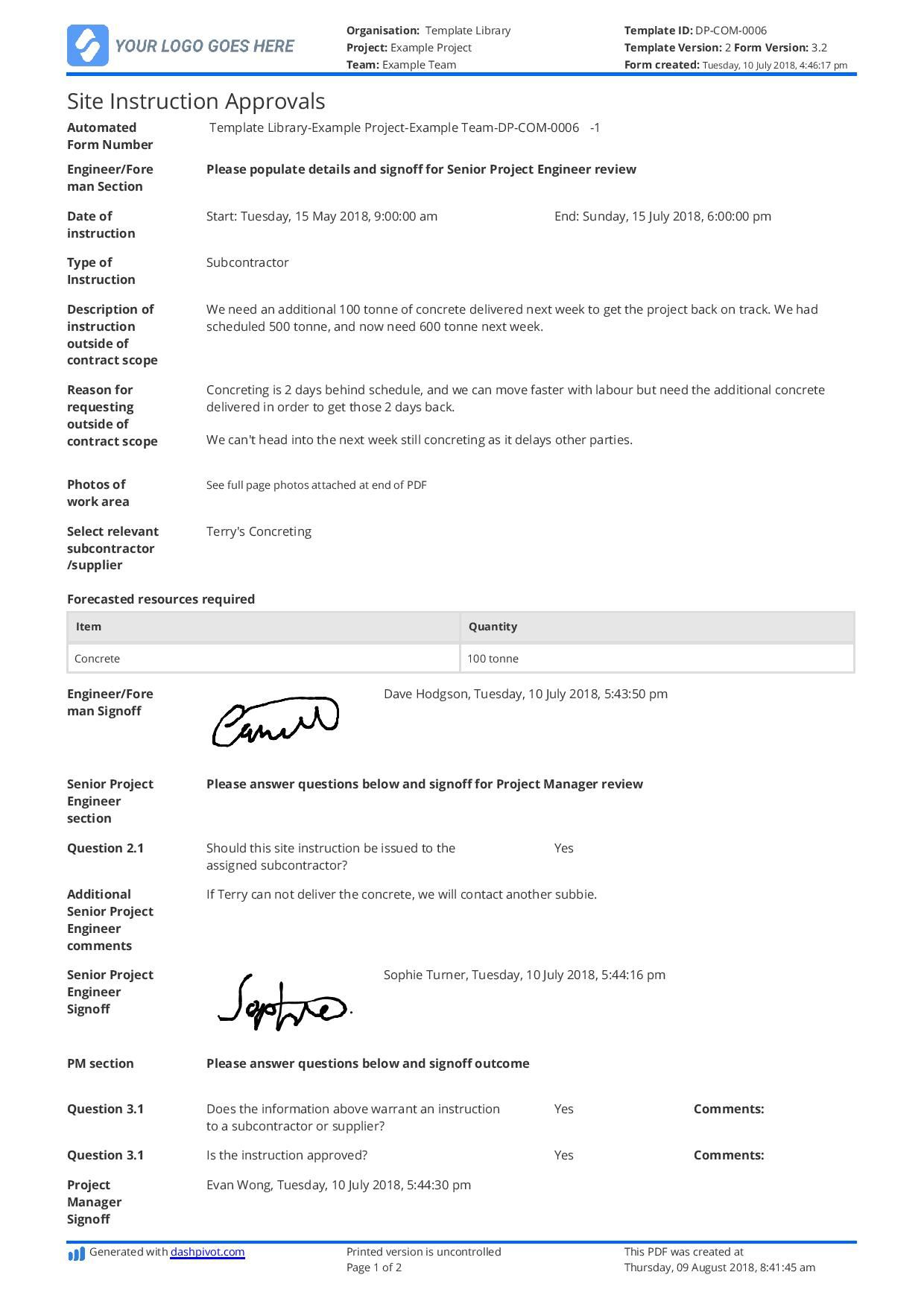 003 Formidable Step By Instruction Template Word Sample  MicrosoftFull