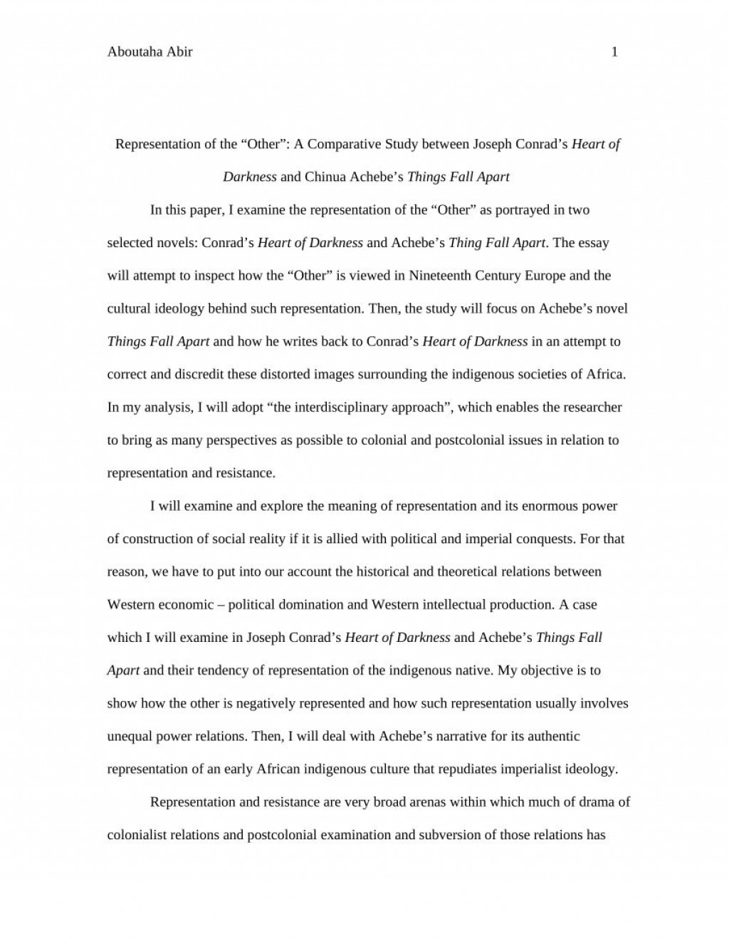 003 Formidable Thing Fall Apart Essay Design Large