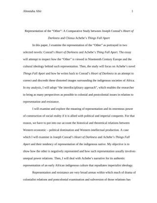 003 Formidable Thing Fall Apart Essay Design 320