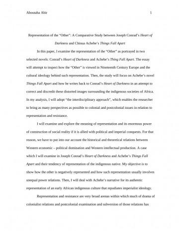 003 Formidable Thing Fall Apart Essay Design 360