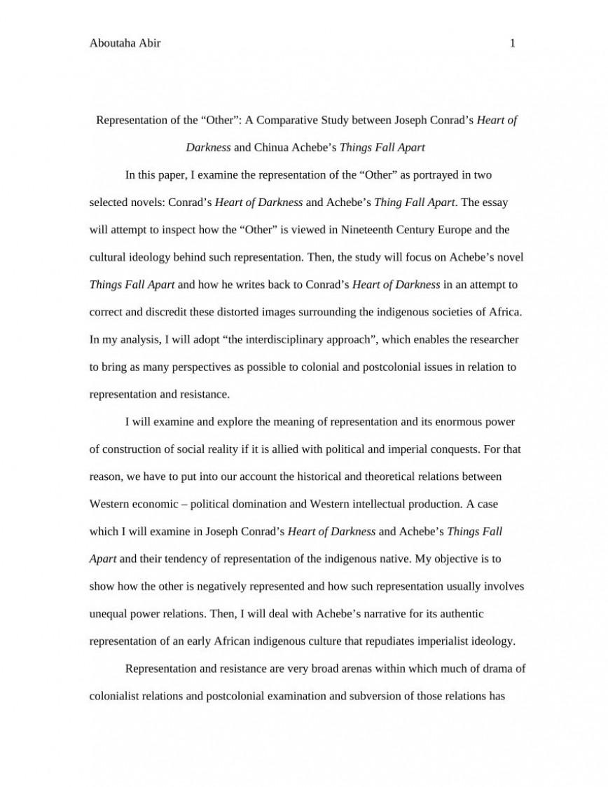 003 Formidable Thing Fall Apart Essay Design 868