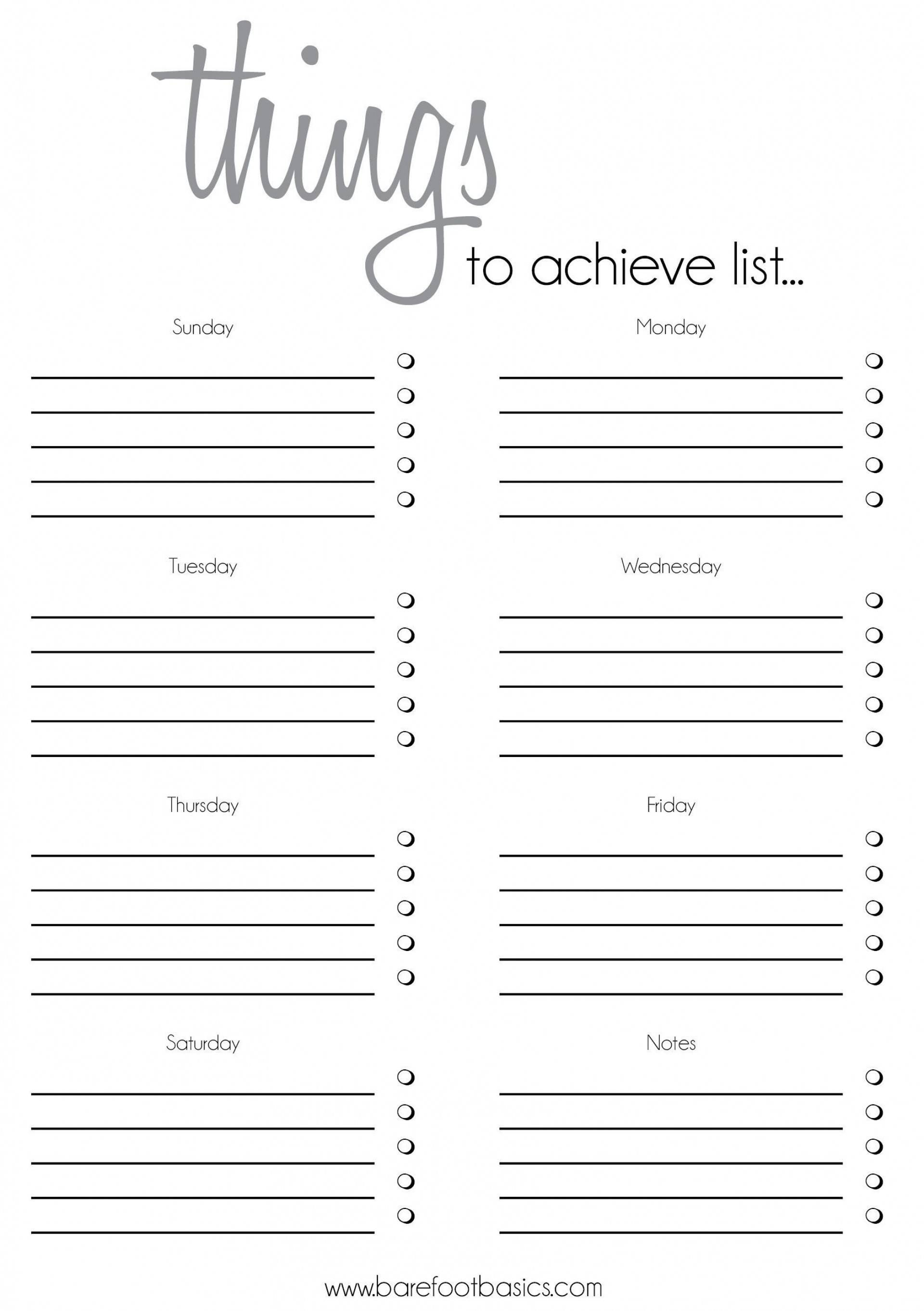 003 Formidable To Do List Template Free Idea 1920