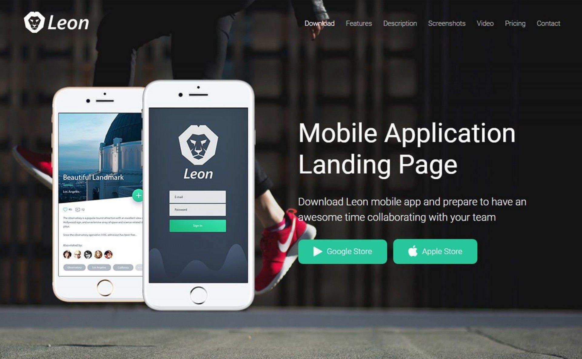 003 Frightening Csvape Esponsive Mobile App Landing Page Html Template Free Download Image  Csvape-responsive-mobile-app-landing-page-html-template1920