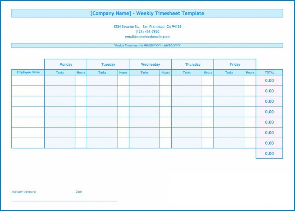 003 Frightening Daily Timesheet Template Free Printable Inspiration Large