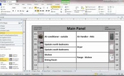 003 Frightening Electrical Panel Label Template Idea  Siemen Free Excel