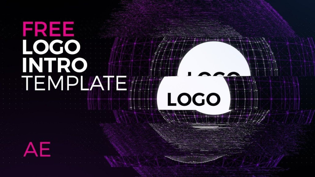 003 Frightening Free After Effect Template Logo Intro Image  Tv Download Cs6 Cs4Large