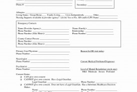 003 Frightening Free Hospital Discharge Form Template Inspiration
