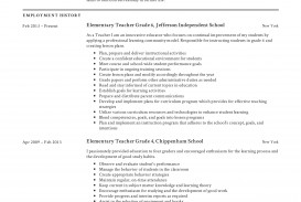 003 Frightening Good Resume For Teaching Job High Definition  Sample Teacher Fresher In India