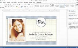 003 Frightening Microsoft Word Graduation Invitation Template Concept  Templates Party