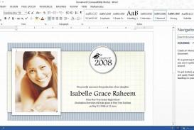 003 Frightening Microsoft Word Graduation Invitation Template Concept  Party