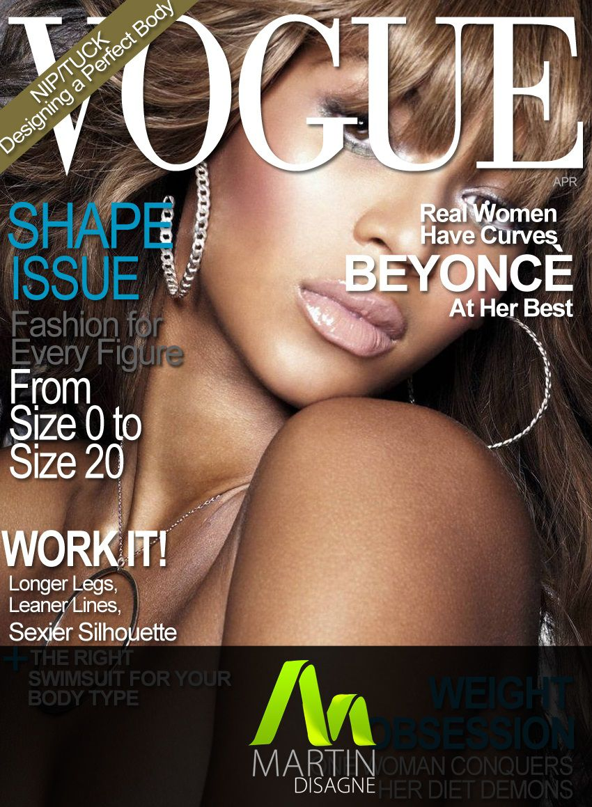 003 Frightening Photoshop Fashion Magazine Cover Template Free High Resolution Full