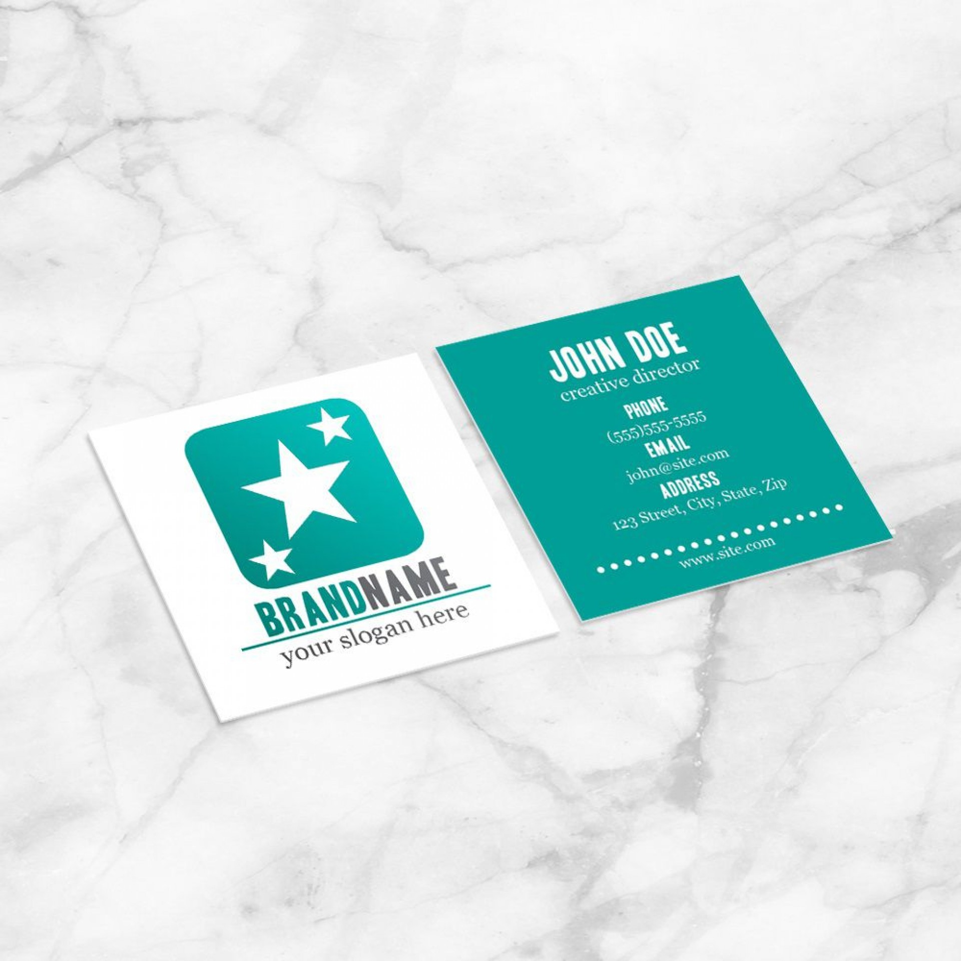 003 Frightening Square Busines Card Template Highest Clarity  Free Download Photoshop1920