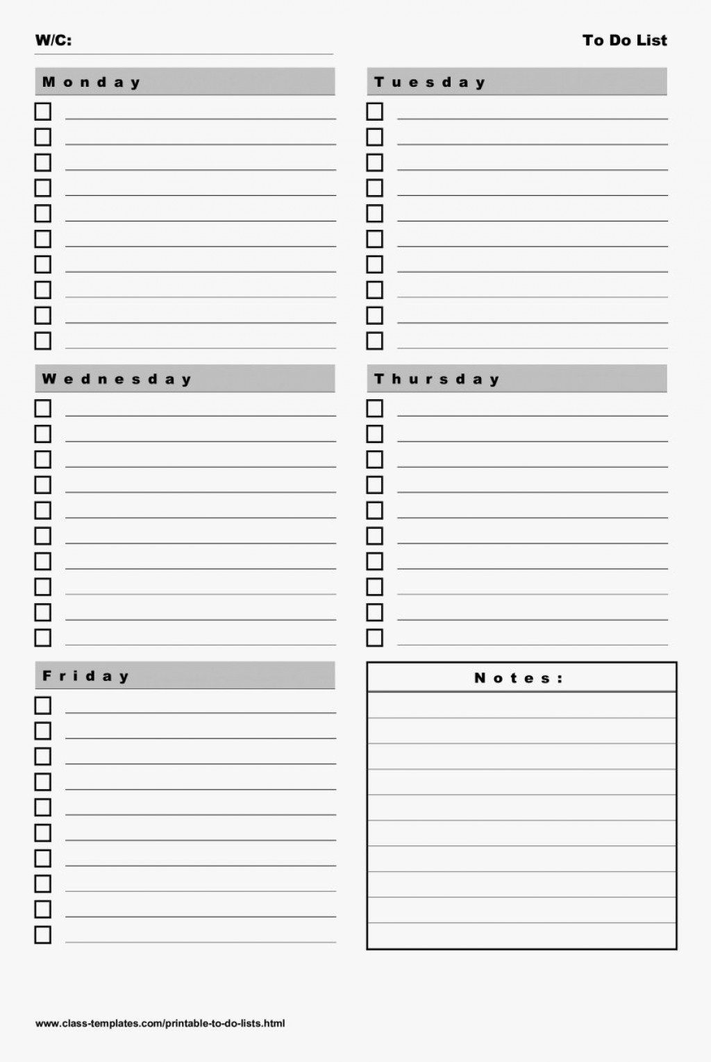 003 Frightening Weekly Todo List Template Photo  To Do Pinterest Task Excel Daily PdfLarge