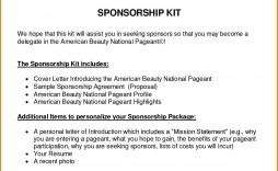 003 Imposing Event Sponsorship Proposal Sample Pdf Image  For Letter Music Template