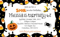 003 Imposing Free Halloween Party Invitation Template Inspiration  Templates Birthday For Word