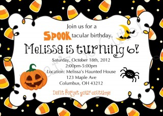 003 Imposing Free Halloween Party Invitation Template Inspiration  Printable Birthday For Word Download320