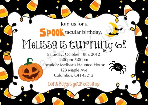 003 Imposing Free Halloween Party Invitation Template Inspiration  Printable Birthday For Word Download480