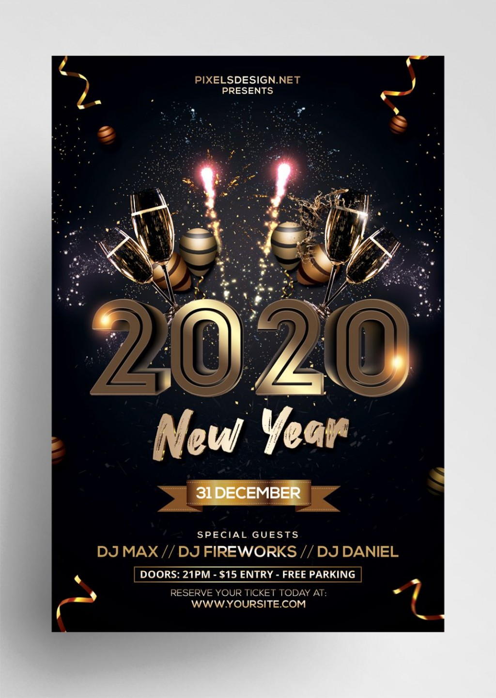 003 Imposing Free Psd Flyer Template High Definition  Templates Deviantart Club Download 2018Large