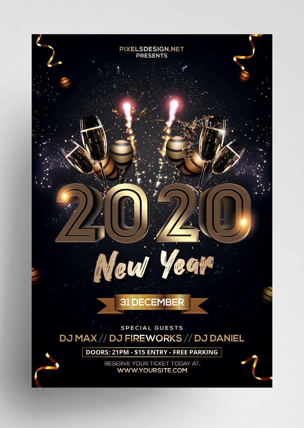 003 Imposing Free Psd Flyer Template High Definition  Templates Deviantart Club Download 2018Full