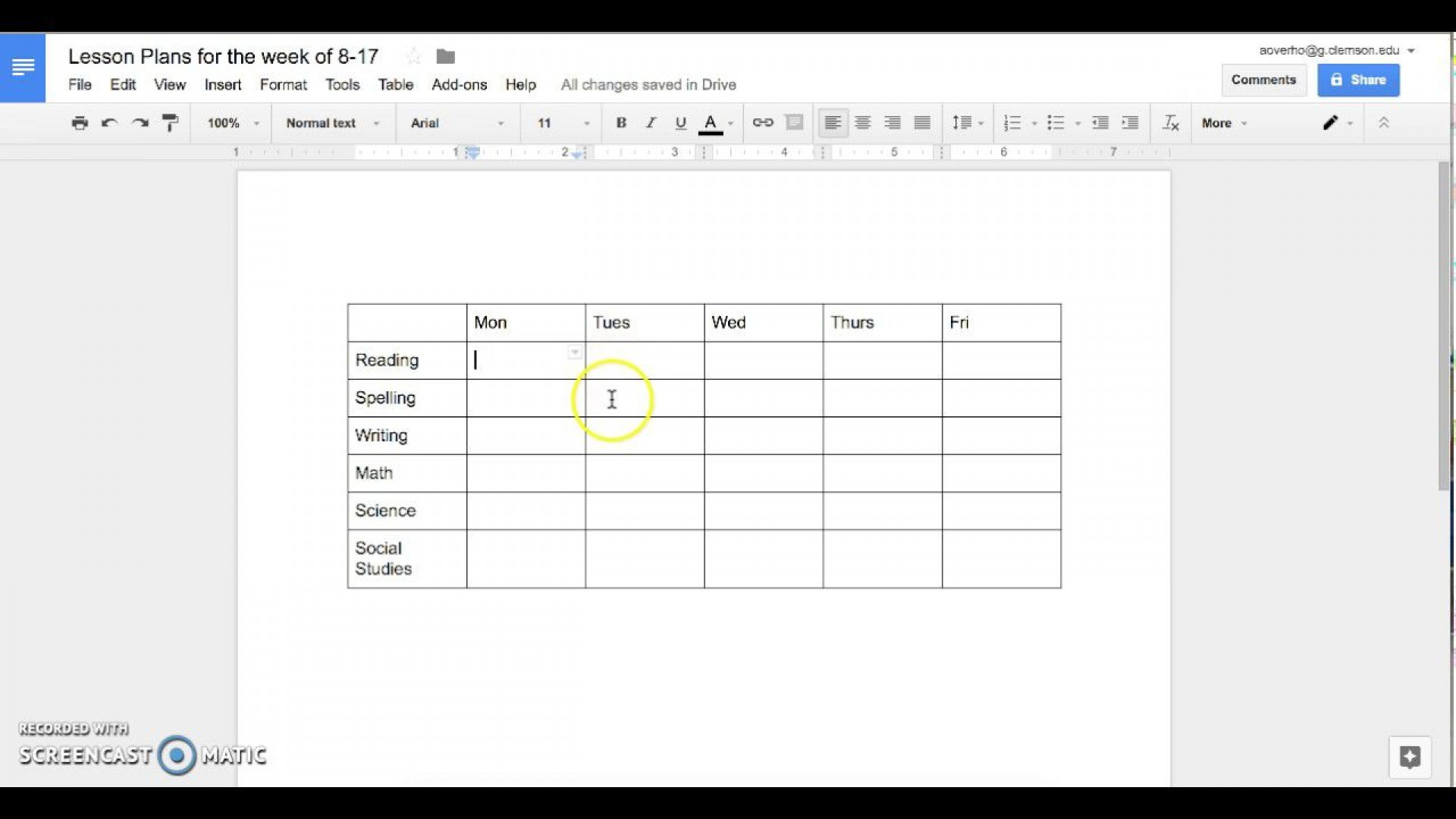 003 Imposing How To Make A Lesson Plan Template In Google Doc Idea  Docs1920