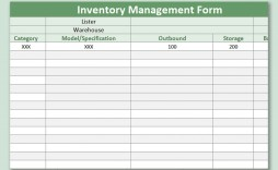 003 Imposing Inventory Sign Out Sheet Template Picture  Word Free Excel