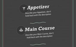 003 Imposing Menu Template Free Download Word Concept  Dinner Party Wedding