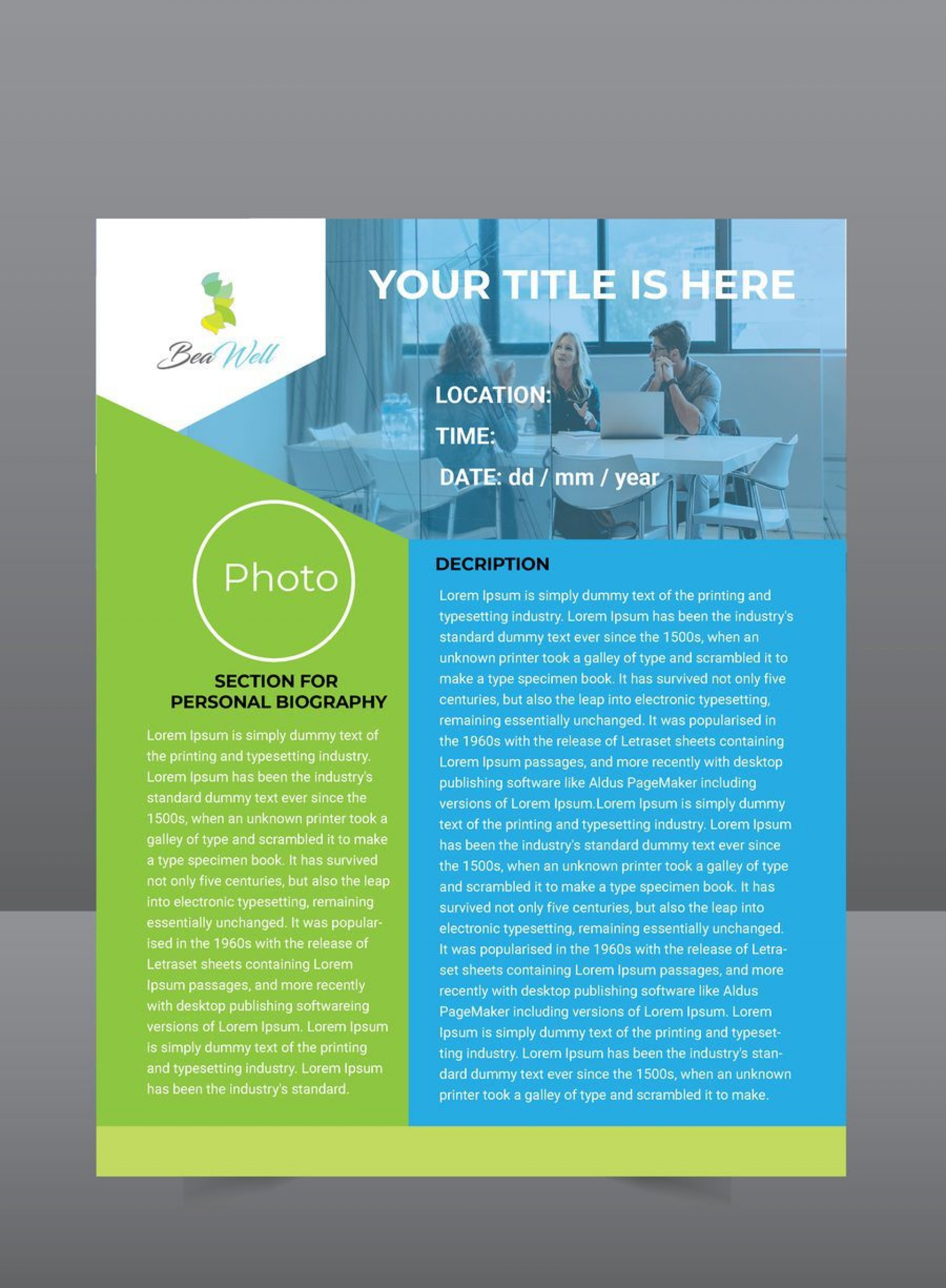 003 Imposing Microsoft Publisher Flyer Template Concept  Office Free Event Download1920