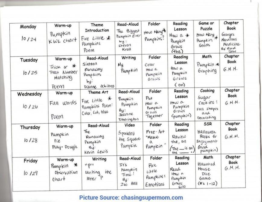 003 Imposing Prek Lesson Plan Template Concept  Example Of Pre-k Free Printable Pre K Preschool Word