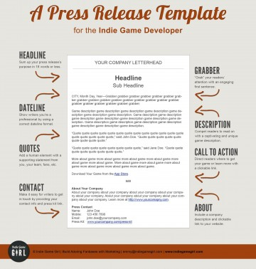 003 Imposing Pres Release Template Free Design  Google Doc Download360