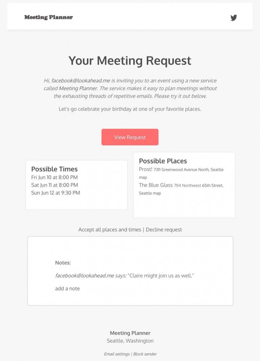 003 Imposing Project Kick Off Email Template High Definition  Meeting Invitation Example868