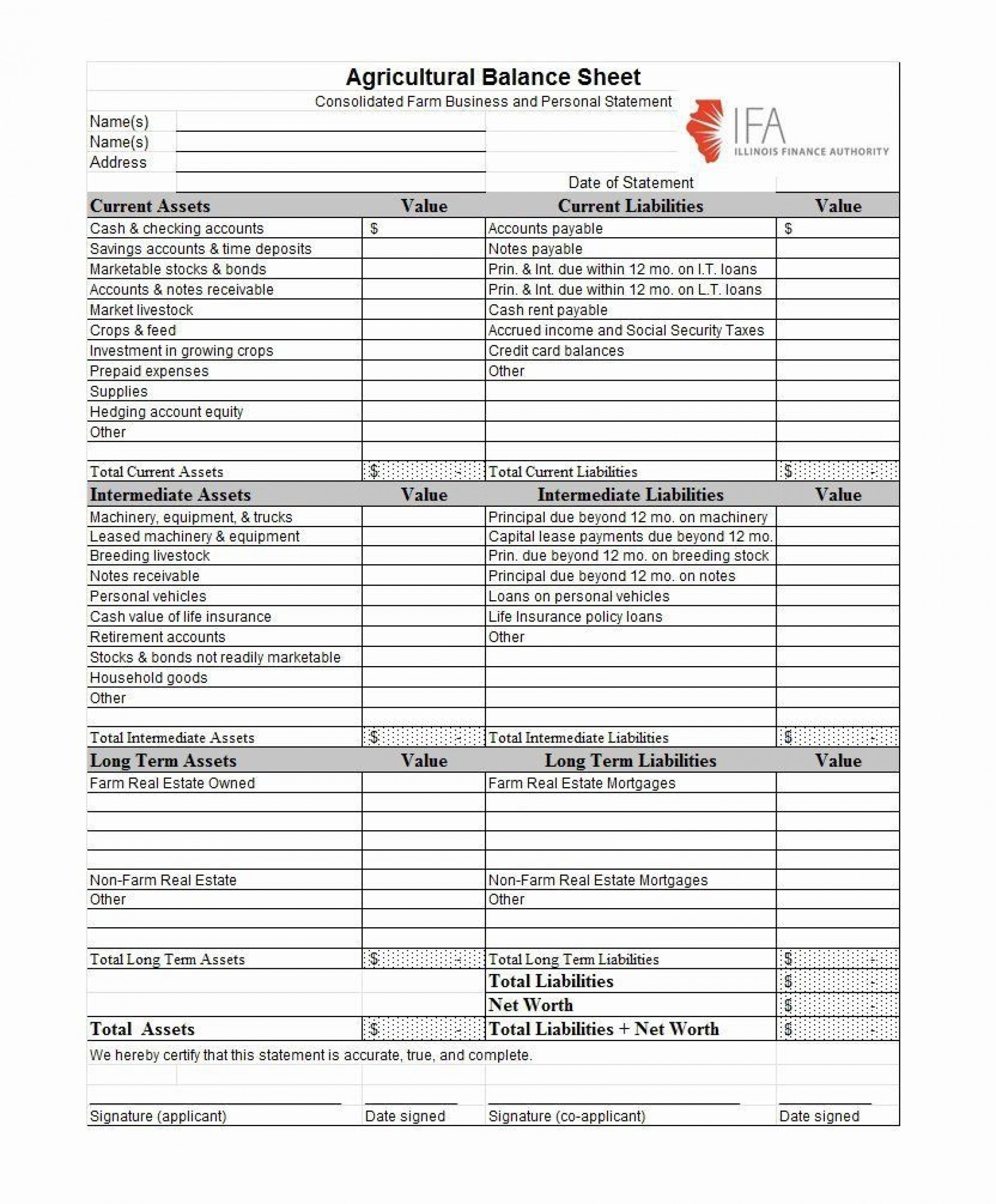 003 Imposing Projected Income Statement Excel Format Design 1920