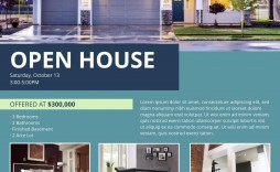 003 Imposing Real Estate Marketing Flyer Template Free Example