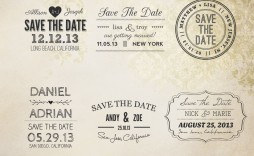 003 Imposing Save The Date Template Word Idea  Free Customizable For Holiday Party