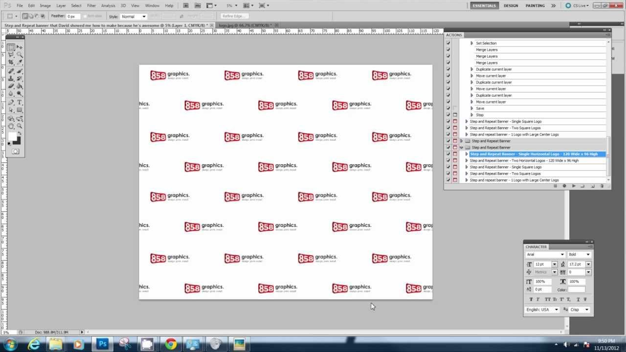 003 Imposing Step And Repeat Banner Template Psd Example Full