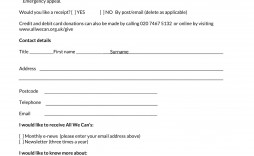 003 Imposing Tax Donation Form Template Inspiration  Ir Charitable Receipt Deductible Example